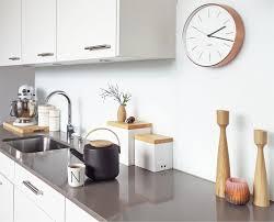 modern kitchen clocks ausblick interiors kitchens and kitchen accessories