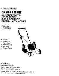 craftsman 917 387430 owner s manual