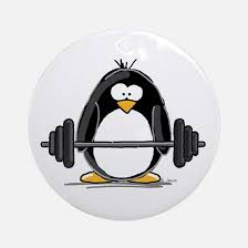 weightlifting ornament cafepress