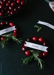 cranberry wreath place cards diy kitchen confidante