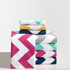 Turquoise Chevron Bedding Chevron Sheet Set Pbteen
