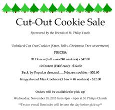 st philip church order christmas cookies online