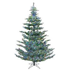 green forest artificial tree multi color cluster led s msrp