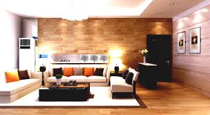 finest apartment living room design featuring calming wall color