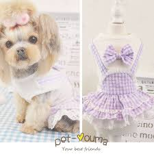 Pet Dog Clothes Summer Cat Dress Clothes Pattern Clothing Cat