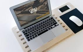 minimalist laptop minimalist tech terminals gutav wooden mobile laptop stand