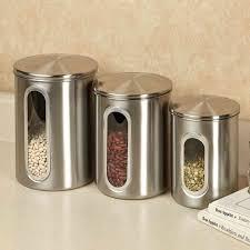 28 metal kitchen canister sets vintage painted metal