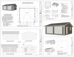 Two Story Garage Plans With Apartments Creative Decorating Modular Garage Apartment Floor Plans Two Story