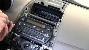 nissan altima 2016 2 door remove and replace radio on nissan altima 2002 2003 2004 youtube
