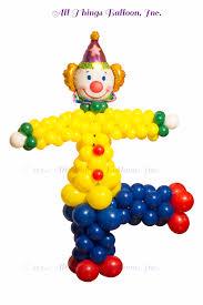clown balloon clown column big balloon decor san antonio