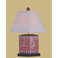 Square Table Lamp Accent Table Lamps New York Custom Lamp Shades Replacement
