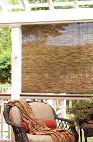 Roll Up Patio Blinds by Amazon Com Radiance 3370732 Cocoa Woven Reed Light Filtering Roll