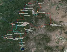 map of oregon springs the oregon route salsa cycles