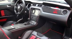 Mustang Interior 2014 Mustang Shelby Gt500 Masterpiece Super Venom Edition By Anderson