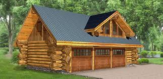 log cabin garage plans fresh design 3 log house plans with garages home and cabin floor