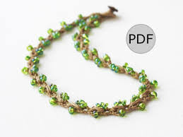 crochet jewelry bracelet images What are easy things to crochet quora