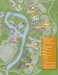 Caribbean Beach Resort Disney Map by Port Orleans Riverside Resort Map Kennythepirate Com An
