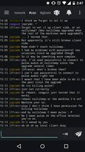android irc how to irc cscwiki