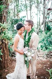 hawaiian weddings chic hawaiian wedding at sunset ranch junebug weddings