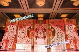 wedding backdrop panels wedding fiber ganesha backdrop panel frame dstexports