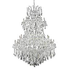 Crystal And Chrome Chandelier Chrome Polished Chandeliers Bellacor