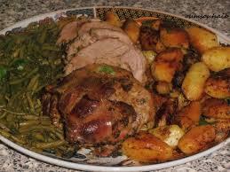 cuisiner epaule agneau épaule d agneau rôtie et ses pommes de terre fondantes le sucré