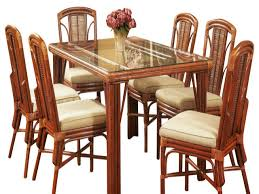 tropical dining room sets