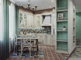 Chandelier Lights For Dining Room Kitchen Colorful Traditional Kitchen With White Wooden Cabinet