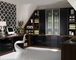 modern home office decorating ideas library closet with built