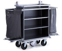chariot femme de chambre zp11 drive le chariot de wanzl motorisé pour femmes de chambre