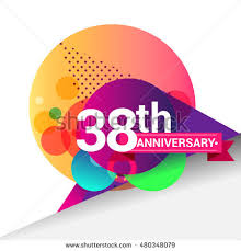 38th wedding anniversary 38th anniversary stock images royalty free images vectors