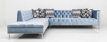 Sofa Trend Sectional Www Roomservicestore Com Hollywood Sectional In Trend Denim Velvet