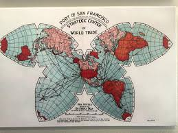 Undersea Cable Map Submarine Cable Map Cahill Projection Bl Ocks Org