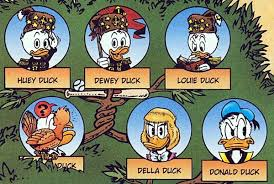 donald duck u0027s family tree highlights interspecies marriage