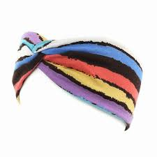 sports hair bands 2018 new sports hair bands women striped knot headbands