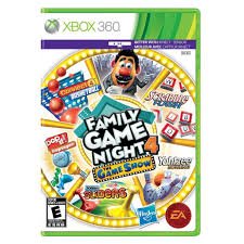 family game night for xbox 360 u0026 wii great family game for the
