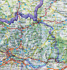 Dordogne France Map by Map Of The Alps France Italy Switzerland Austria Germany
