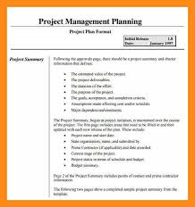 9 examples of project plan actor resumed