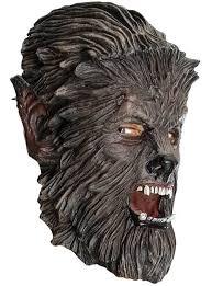 Wolfman Halloween Costume Wolfman Mask Masks