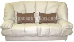 canapé lit matelas épais banquette clic clac