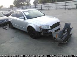 damaged audi for sale damaged salvaged audi a4 2 0t premium car for sale