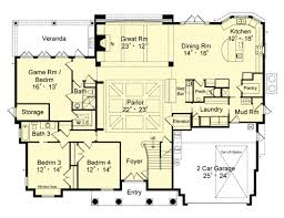 House Rules Floor Plan First Floor Plan Image Of Bahama Breeze House Plan Dream Home
