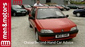 peugeot 2nd hand cars cheap second hand car advice 1996 peugeot 106 youtube