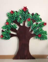 bhd 3 diy cardboard trees for craft ideas bahrain