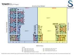 mall of asia floor plan s residences smdc properties