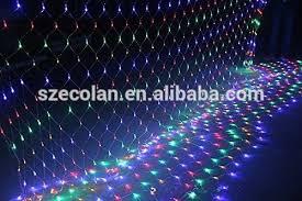 waterproof twinkle rgb led net lights for wedding