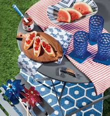 throw the best backyard bash this summer with colorful accessories