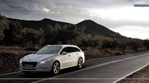 peugeot 508 sw peugeot 508 sw stopped on highway wallpaper