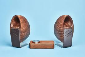 grovemade speakers made in collaboration with industrial designer