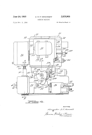 patent us2839968 hobbing machine google patents